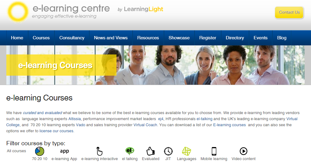 Online courses from e-Learning Centre