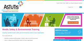 Health, safety and environmental training courses
