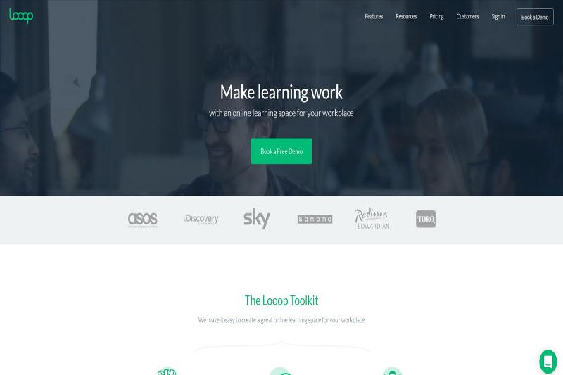 Looop learning platform