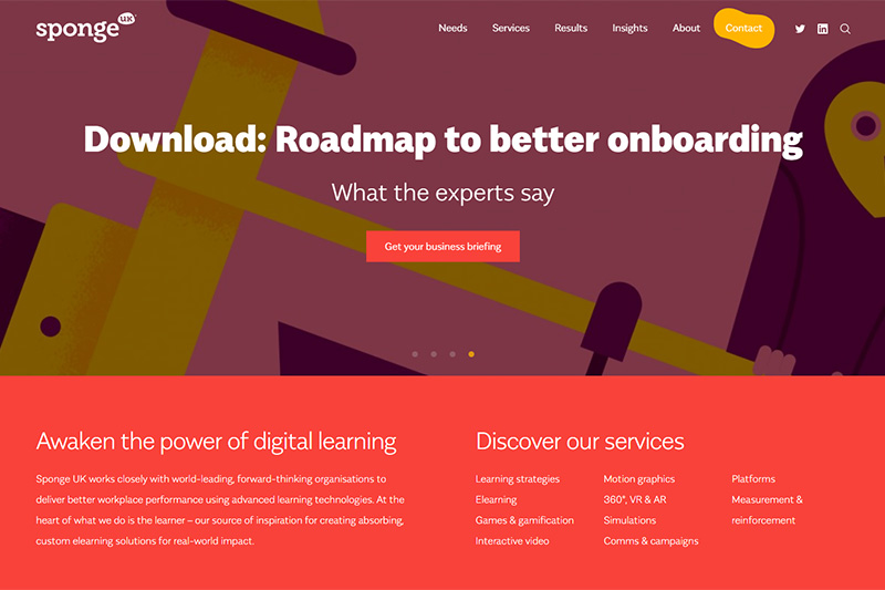Sponge UK Digital Learning Services