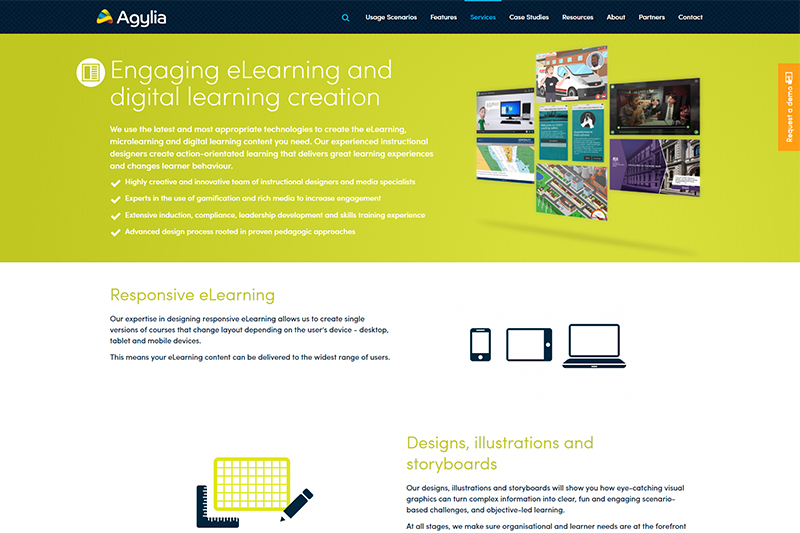 eLearning Content Creation from Agylia