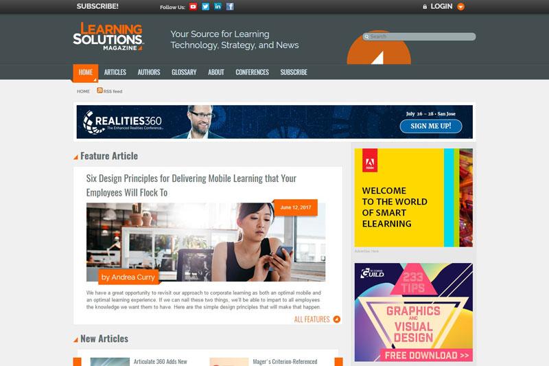learningsolutionsmagazine learning light
