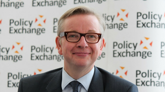 Michael Gove - UK Justice Secretary
