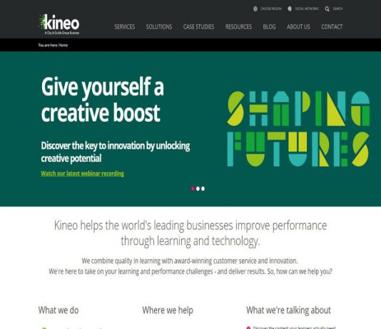 Global workplace learning company - Kineo