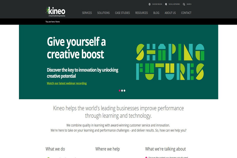 Global workplace learning company - Kineo