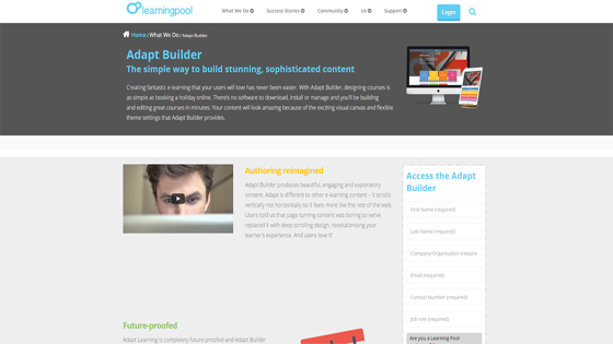 Adapt Builder for Custom eLearning Content
