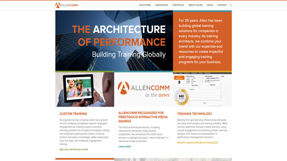 Custom Training Design and Development by Allen