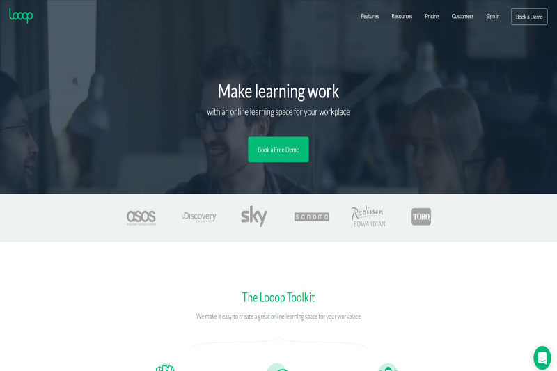 Looop learning platform