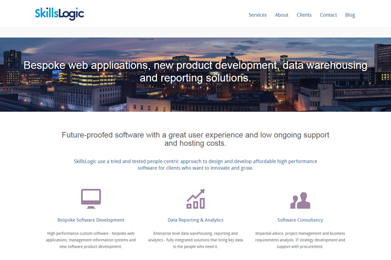Bespoke Software Development by SkillsLogic
