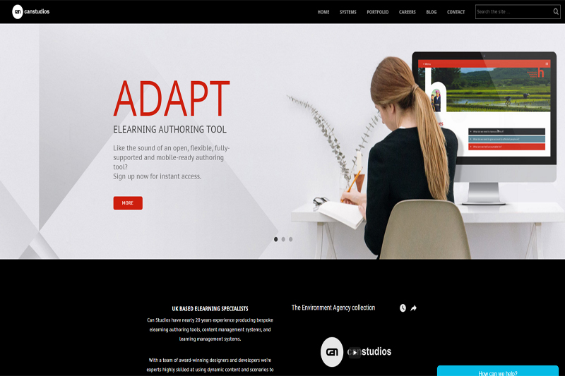 Custom elearning authoring tools by Can Studios