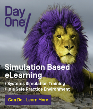 Realistic system simulations with elearning from Day One, UK