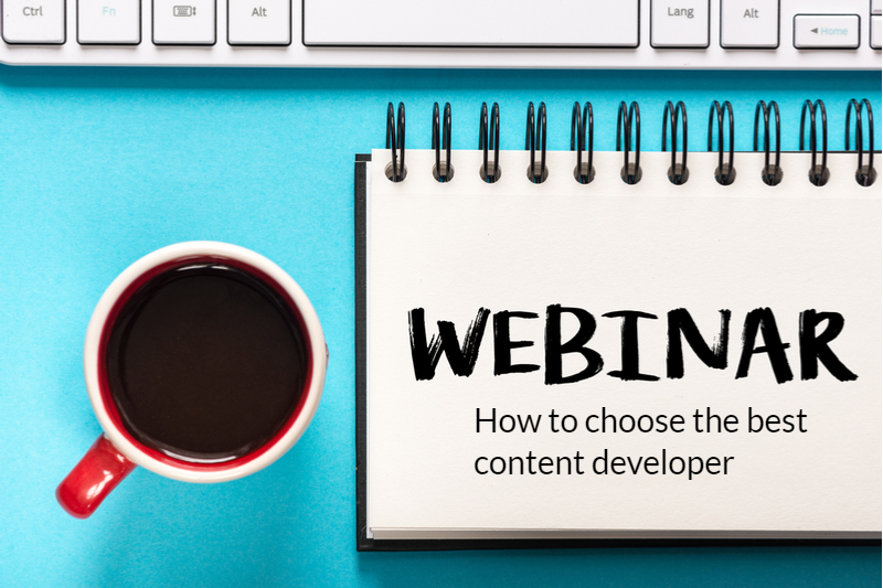 Choose the best elearning content developer