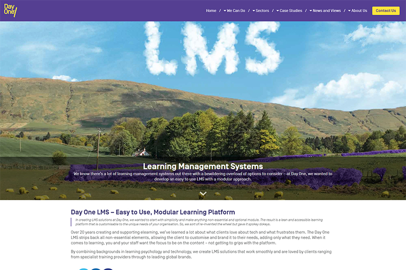 Bespoke LMS solutions from Day One