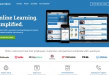 LearnUpon learning management system