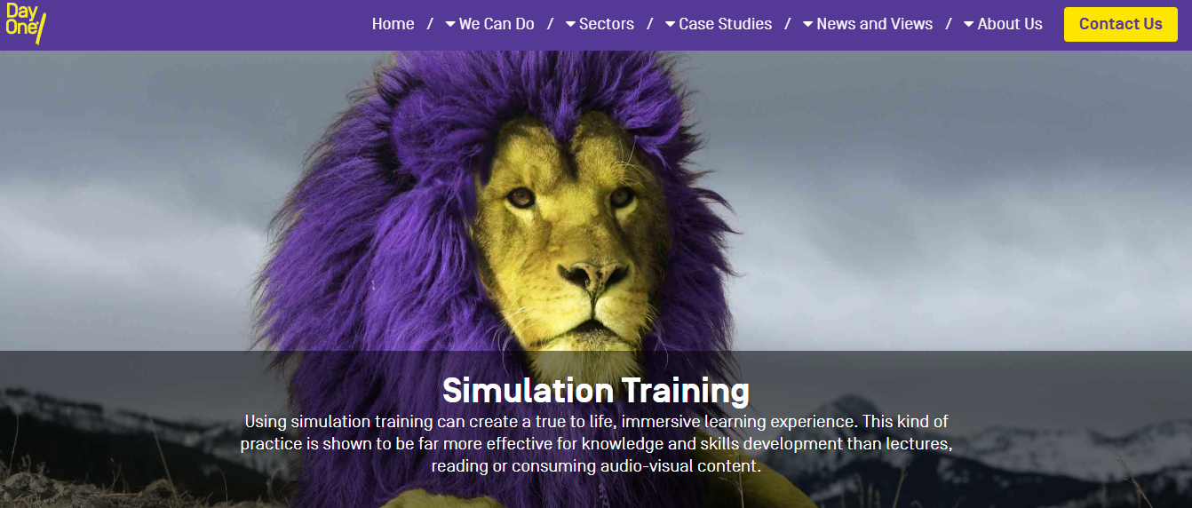 Simulation Training from Day One Technologies