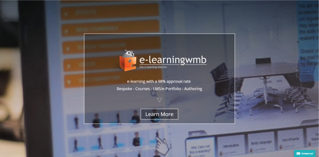 e-Learning WMB website