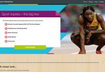 Injury prevention training for the International Olympic Committee
