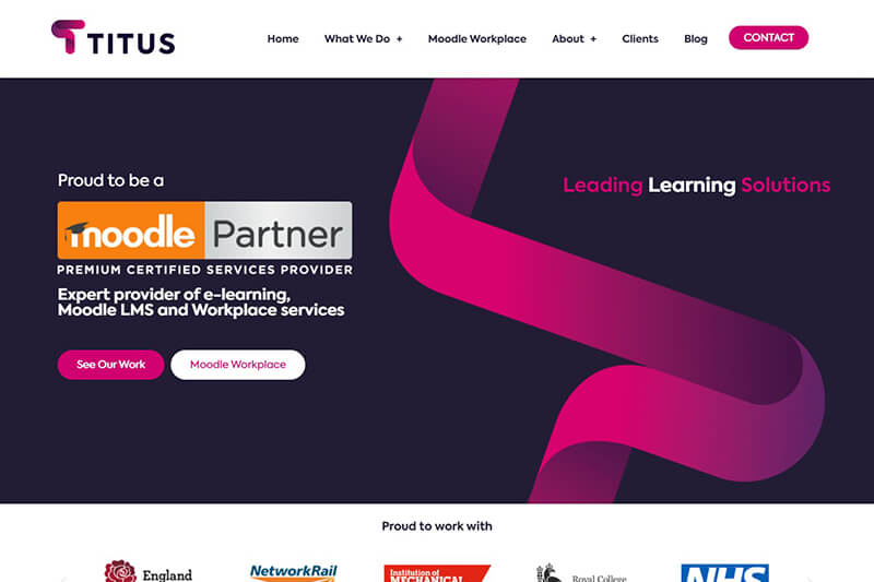 Premium Moodle Partner Titus Learning