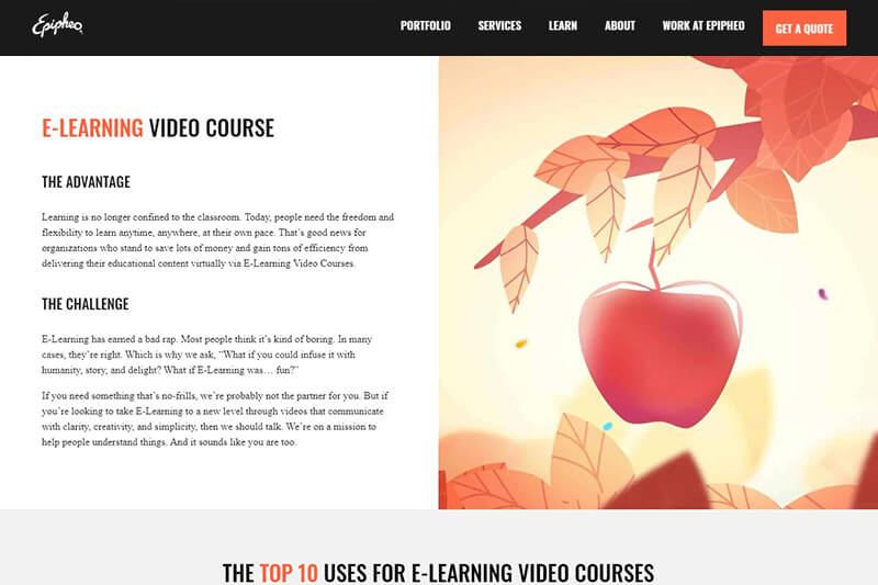 Epipheo elearning videos