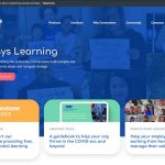 Cornerstone elearning company in the US