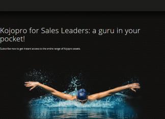 Kojopro sales leadership development platform