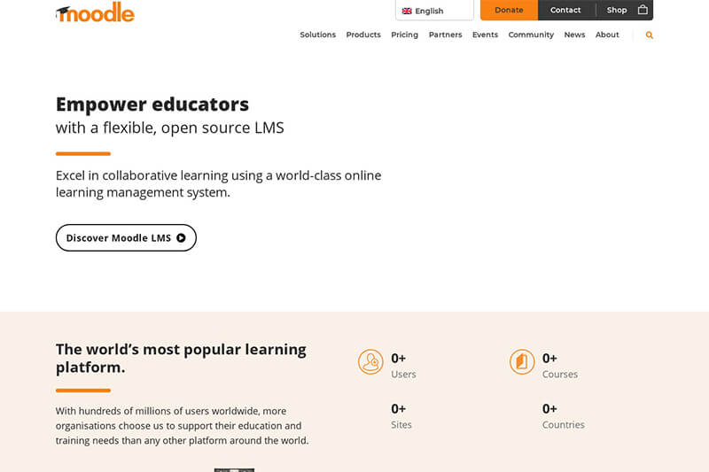 Moodle LMS - the top open source platform