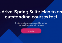 Creating courses with iSpring Suite Max