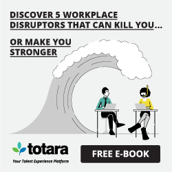 Workplace disruption e-book from Totara