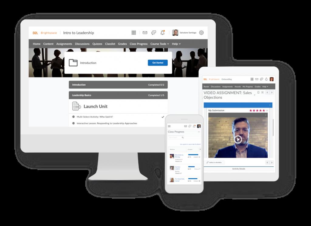 Multi-device learning platform