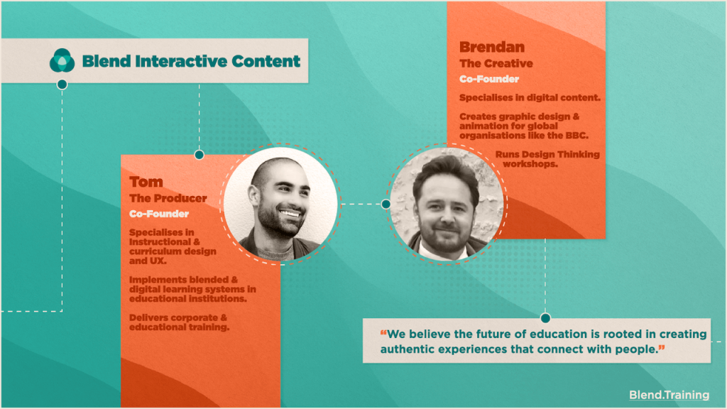 Interactive elearning content development from Blend