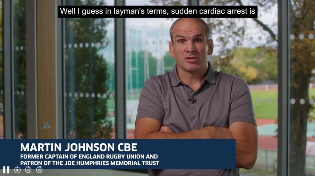 Martin Johnson CBE - England Rugby captain