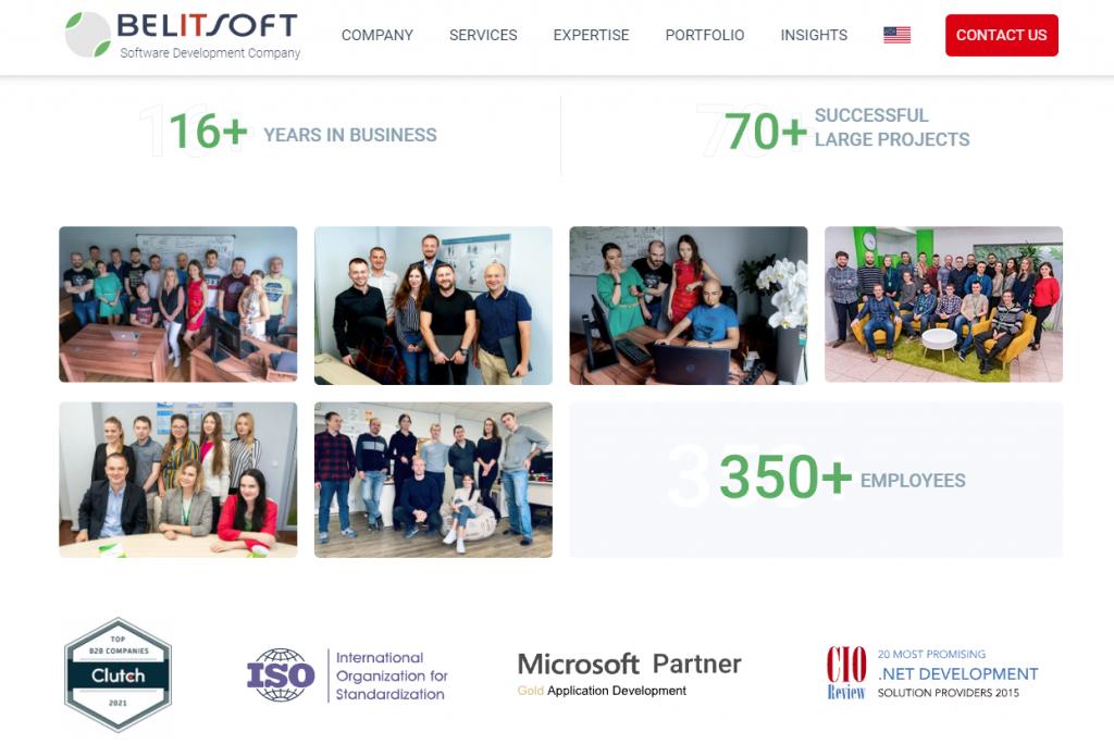 Belitsoft software development company