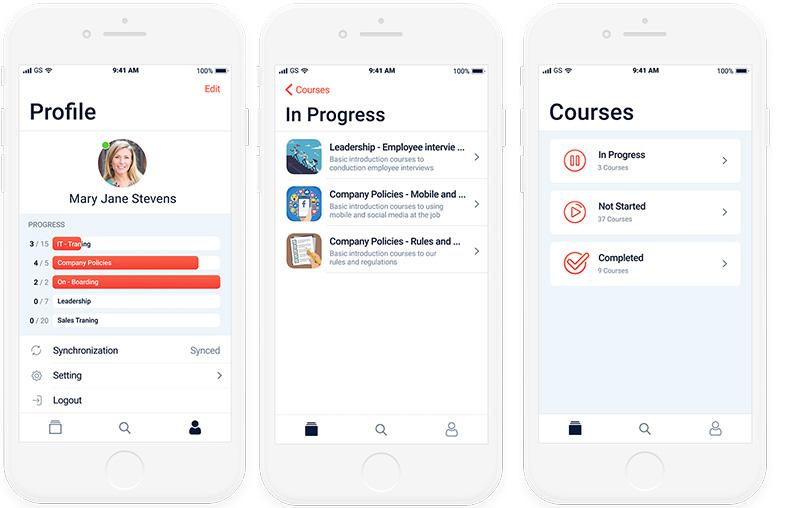 eLearning app developed by Belitsoft